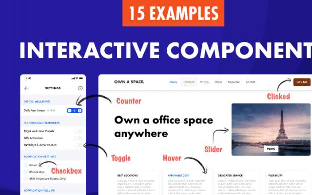 Interactive Components figma