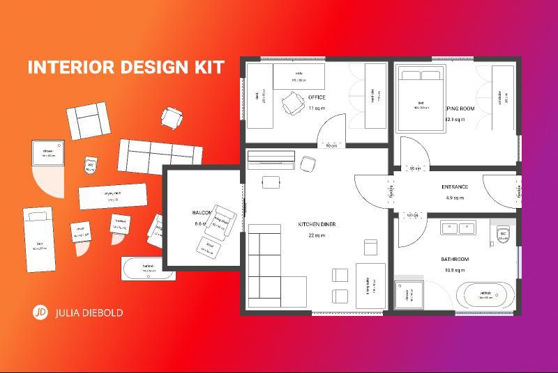 Interior Design Kit Floor Plans Made Easy Figmteam Com