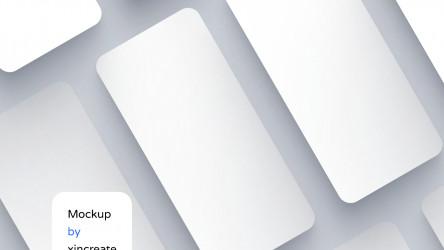 iOS APP Mockup for Presentation