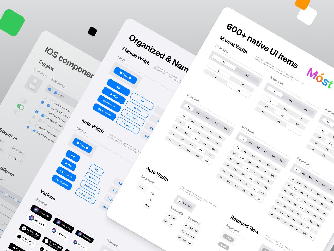 iOS design system — Free UI kit