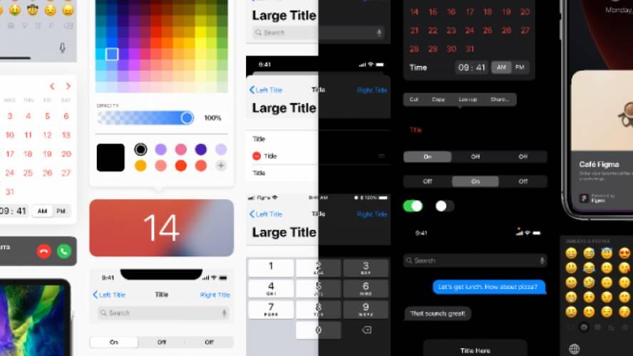 iOS & iPadOS 14 UI Kit for Figma Template