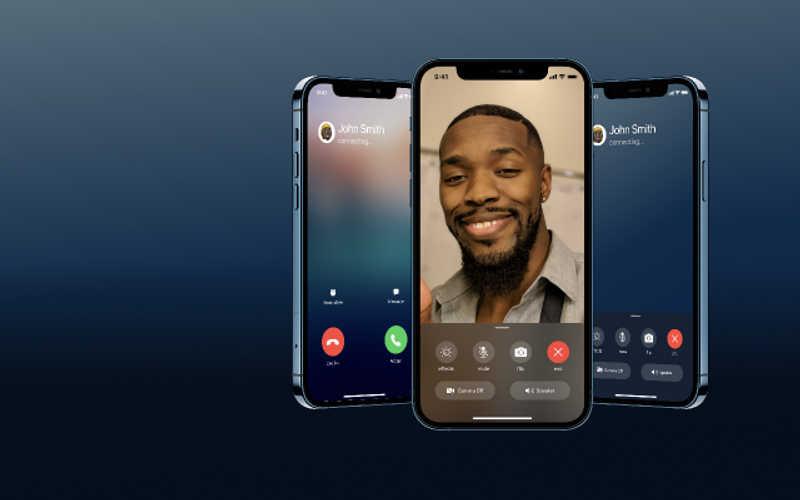 iOS Phone & Facetime Call UI Figma