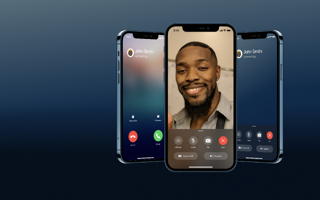 iOS Phone & Facetime Call UI Figma