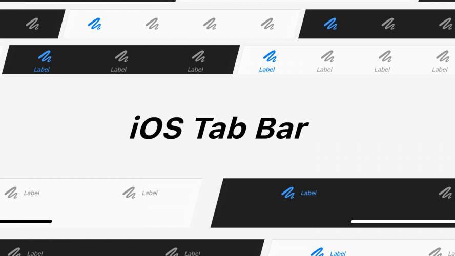 iOS Tab Bar Figma free