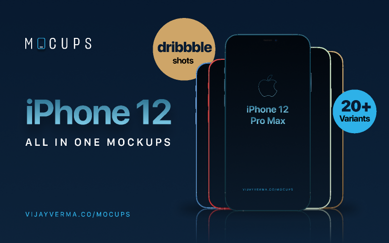 iPhone 12 - MOCUPS