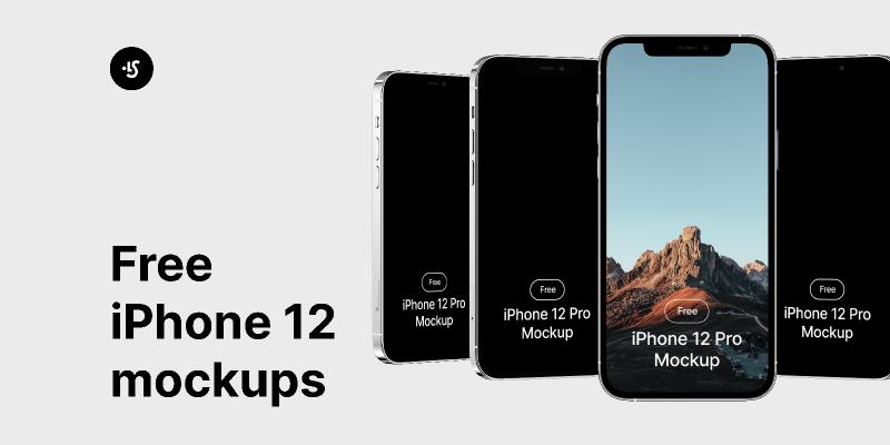 iPhone 12 Pro Mockups (Figma)