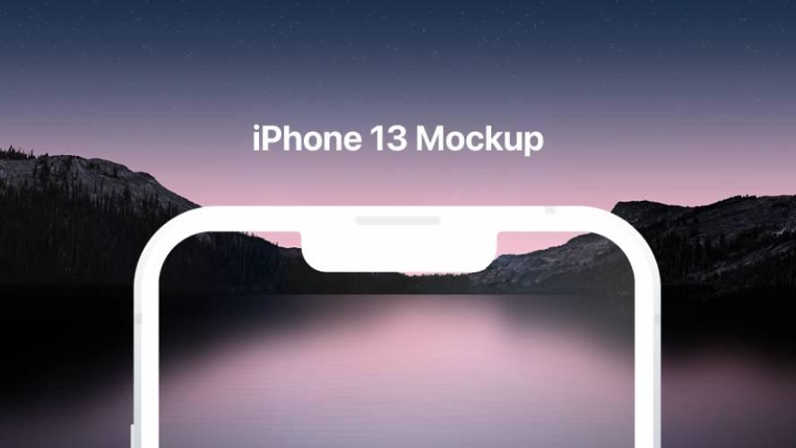 iPhone 13 Mockup Figma Template