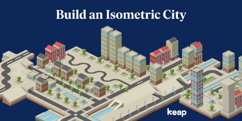 Isometric City Template figma free