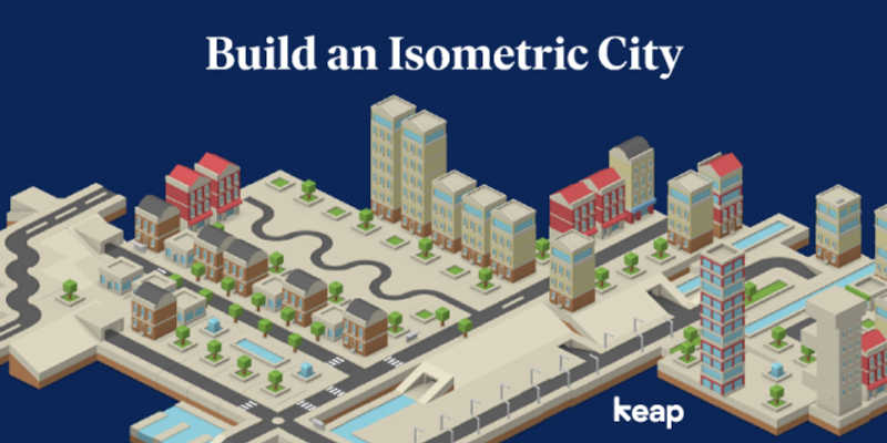 Isometric City Template figma free