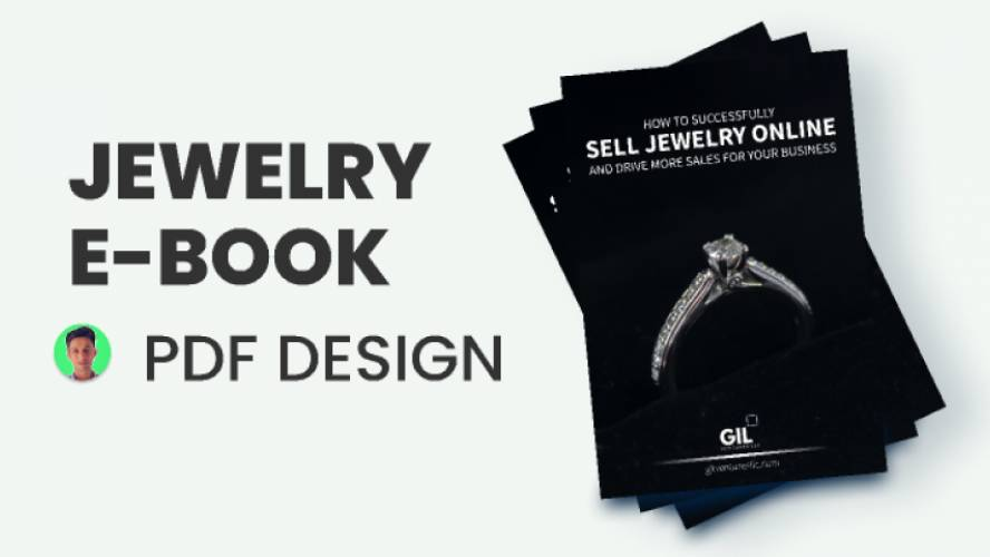 JEWELRY Book Design Figma Template