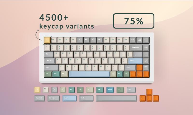 Keeybs — 75% Keyboard Kit figma