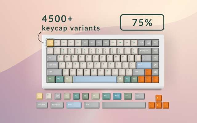 Keeybs — 75% Keyboard Kit figma