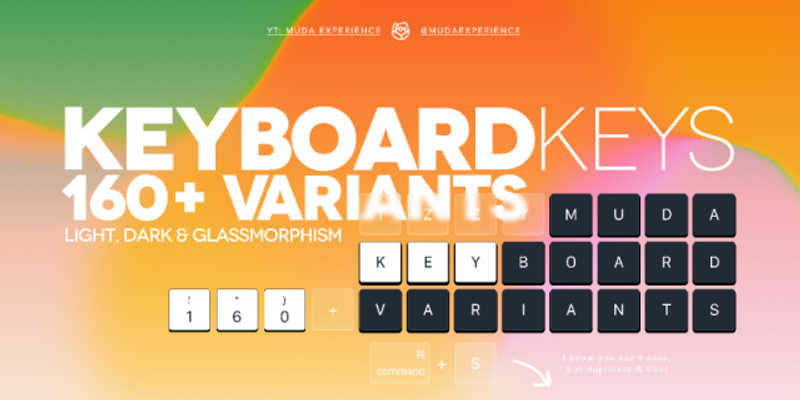 Keyboard Keys (with Variants)