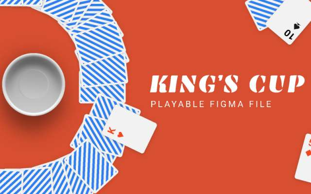 King's cup Figma Template