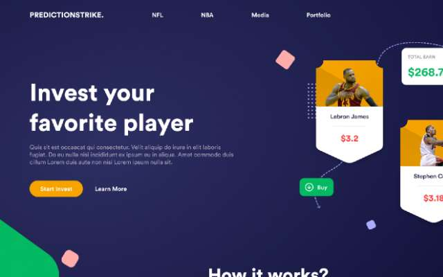 Landing Page Design Figma