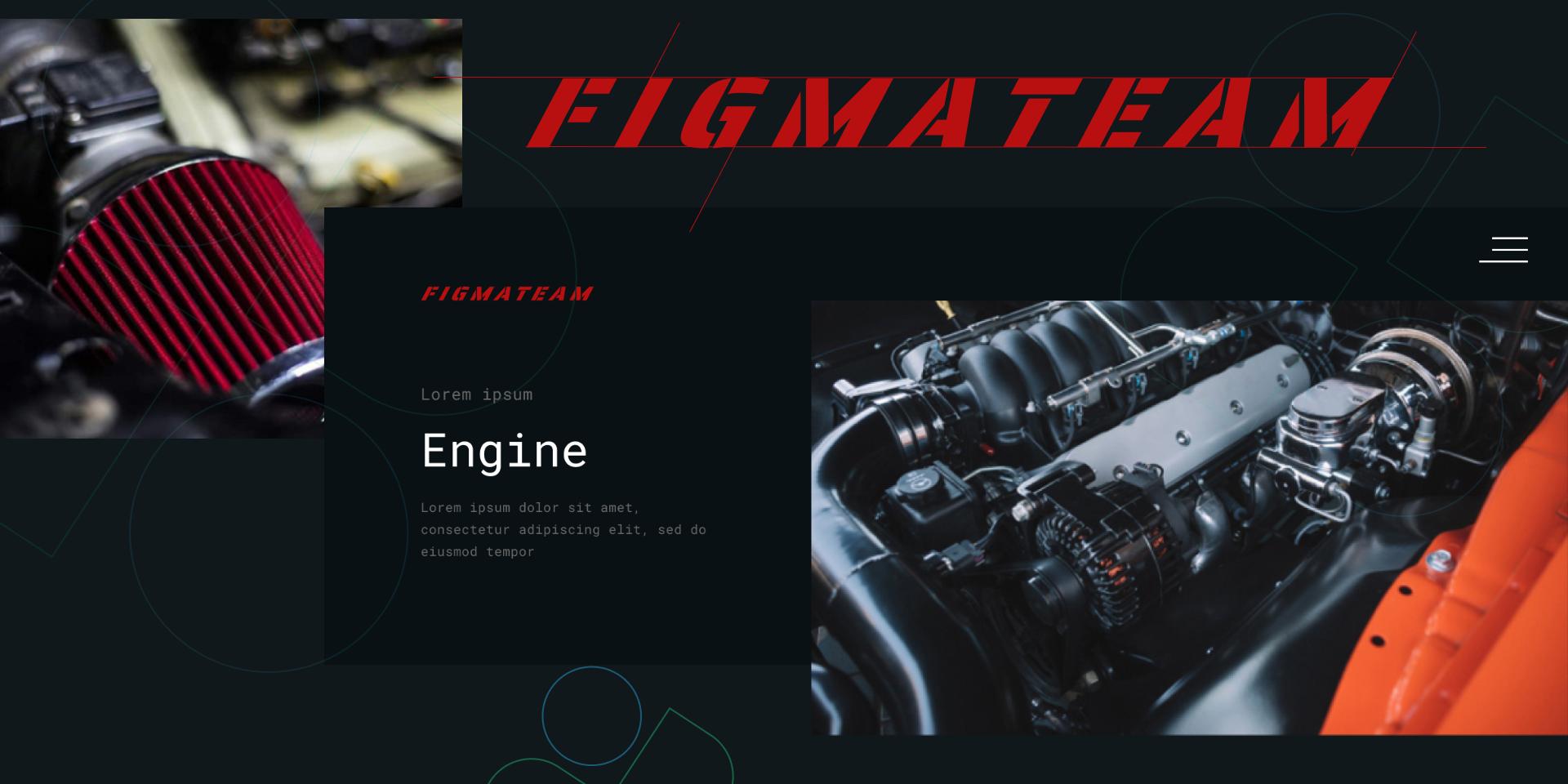Landing UI Kit figma free