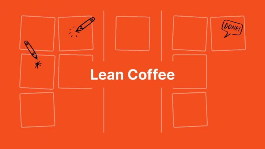 Lean Coffee FigJam Template