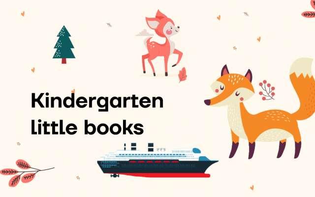 little book for kidgarden Figma Design