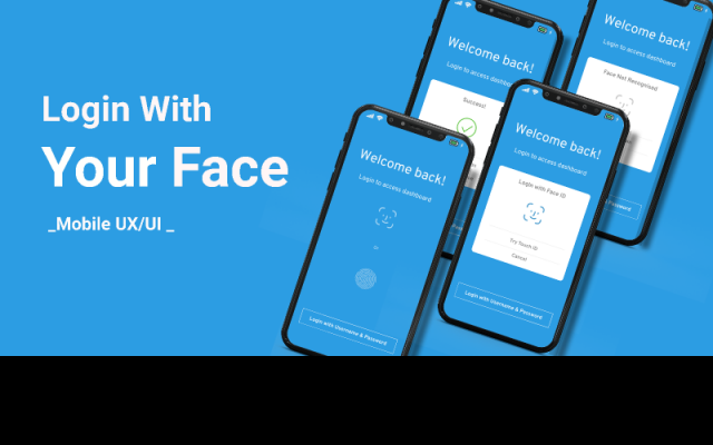 login with your face