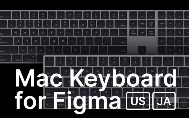 Mac Keyboard Mockup for Figma free