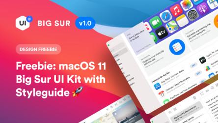 macOS Big Sur UI Kit figma