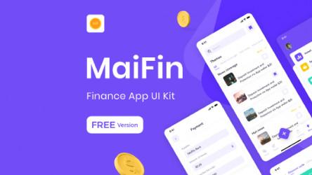MaiFin (Free Figma)
