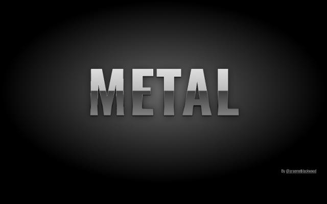 Metallic type Figma