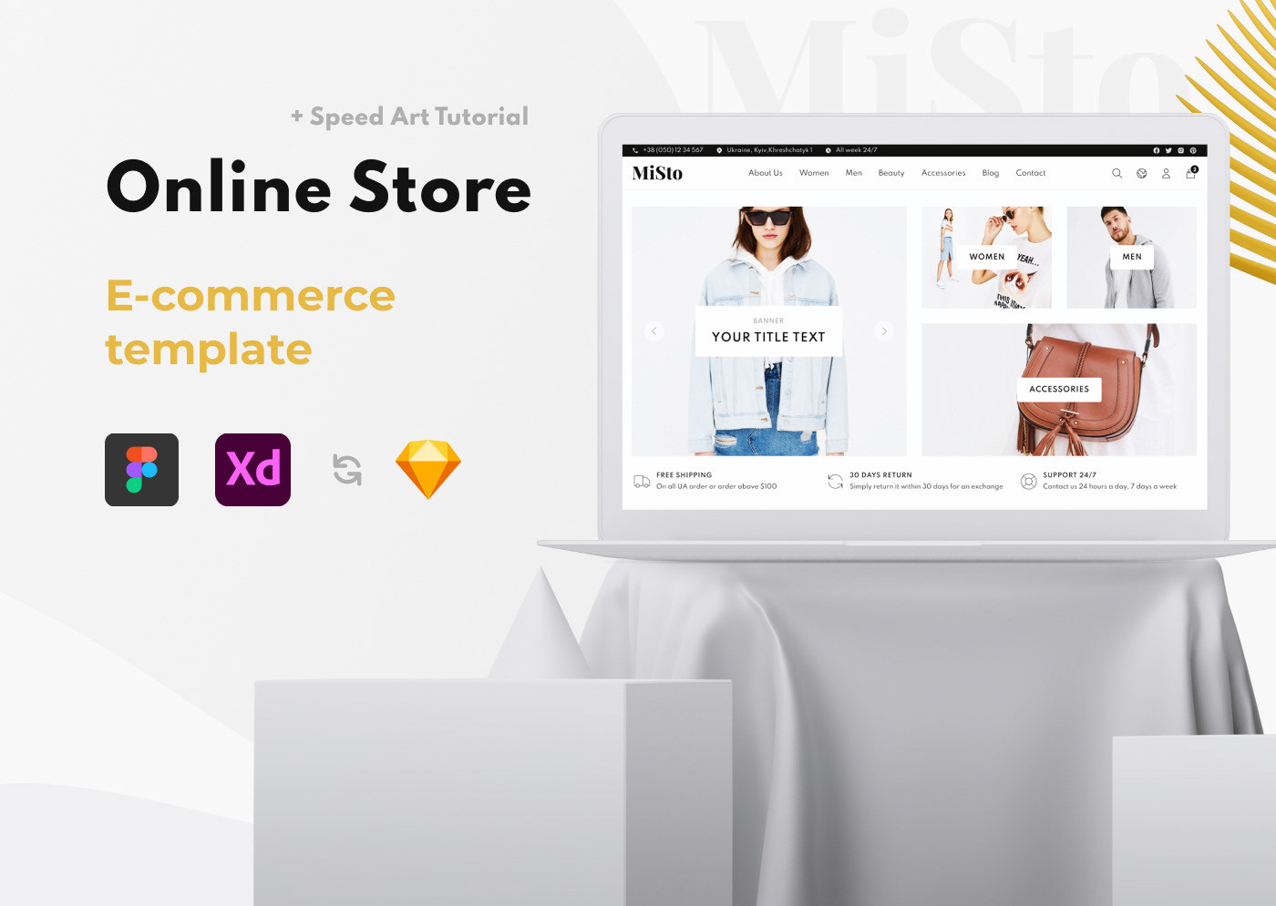 MiSto\Free eCommerce template\Store\Shop\Minimalist & Clean Web Design
