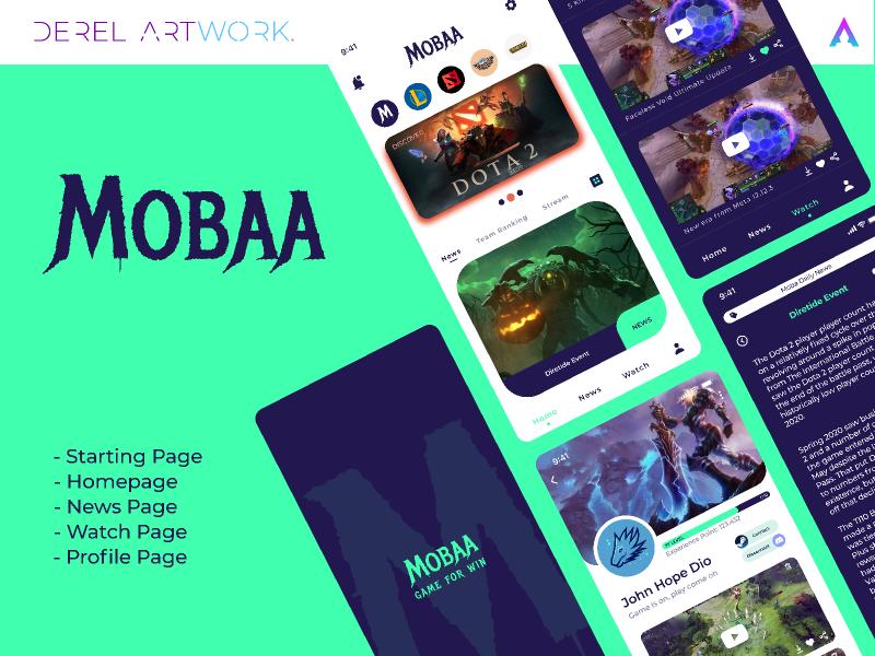 MOBAA APP (Moba Games App)