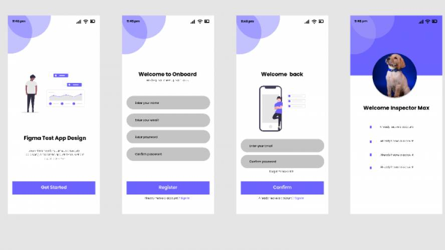 mobile design figma free