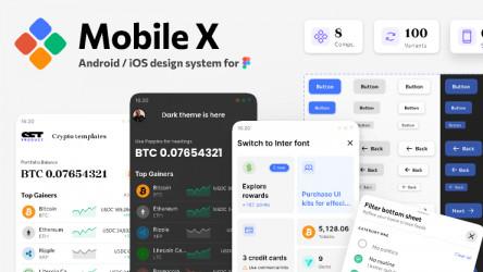 Mobile figma design system