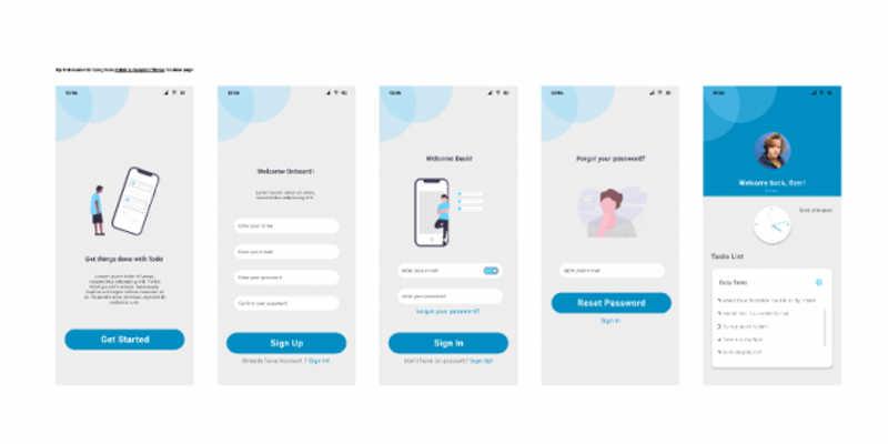Mobile UI Clone Figma