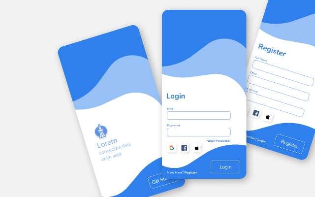 Modern Login UI 2.0 figma