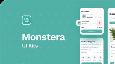 Monstera UI Kit Figma Free