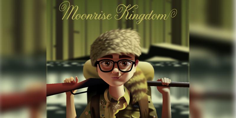 Moonrise Kingdom Figma Illustration