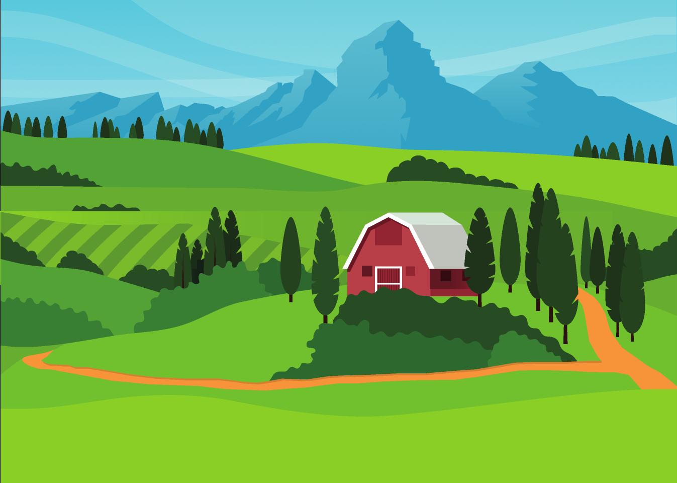 Mountains Landscape Figma