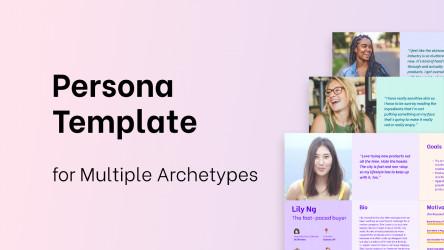 Multiple Personas Template Design Figma