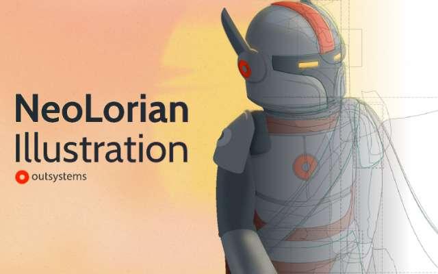 NeoLorian Illustration Figma Free