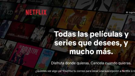 Netflix Landing Page Figma Free