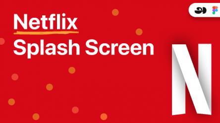 Netflix Splash Screen Animation
