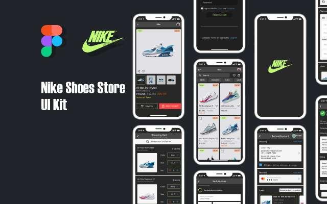 Nike figma template