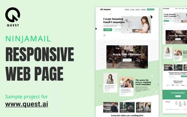 NinjaMail Figma Web Responcive