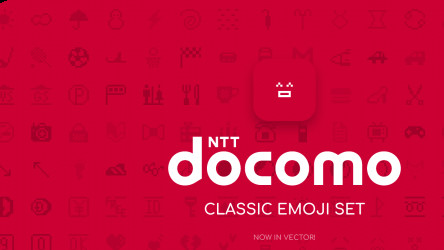 NTT DoCoMo classic Emoji set