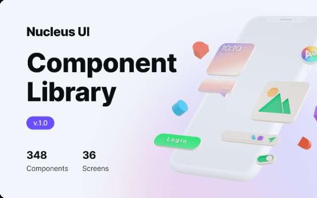 Nucleus UI v1.0 figma design system