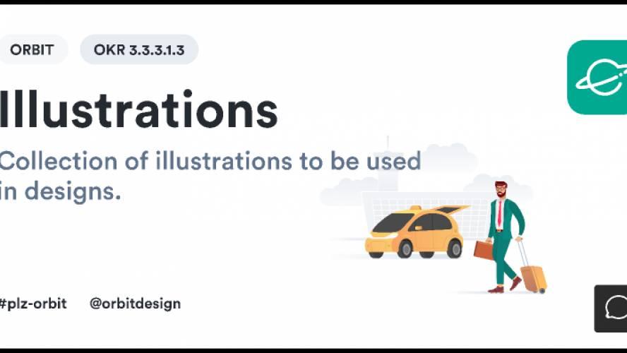 [Orbit Design System] Illustrations