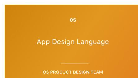 OS Design Figma System 0.1