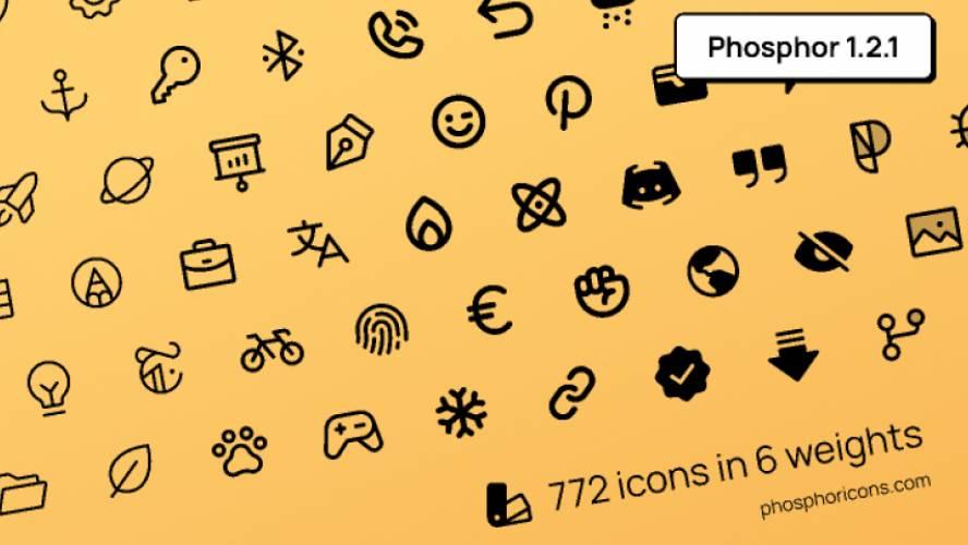 Phosphor Icons figma