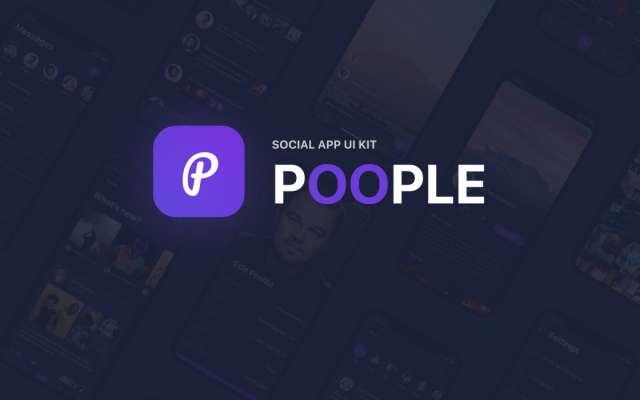 Poople App Figma Free