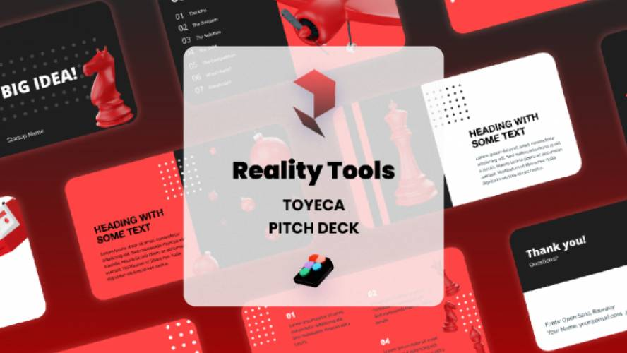 Presentation Figma Toyeca Icons - Pitch Deck