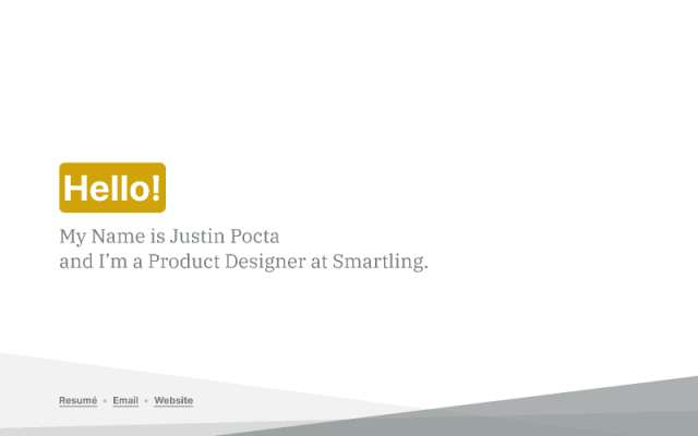 Presentation Justin Pocta - Portfolio 2021 (slide)